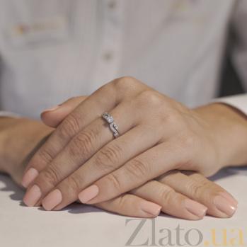 Кольцо из белого золота Виолетта 12354/б