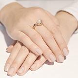 Золотое кольцо с жемчугом Магия