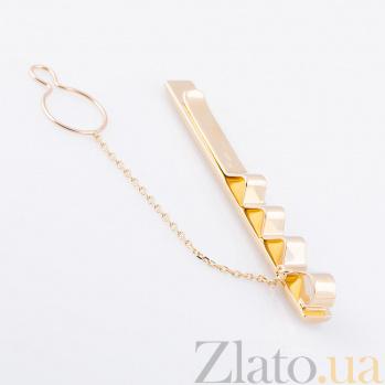 Золотой зажим для галстука Гидеон 000061753