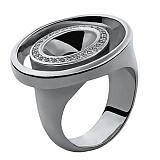 Серебряное кольцо с бриллиантами Winner