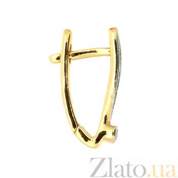 Золотые серьги с бриллиантами Анима ZMX--ED-6787_K