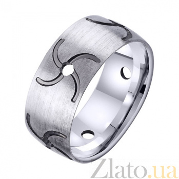 Золотое обручальное кольцо Символ рода TRF--421970