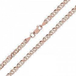 Серебряная цепочка с позолотой, 5 мм 000071977