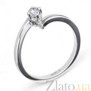 Золотое кольцо с бриллиантом Merida R0167