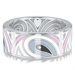 Обручальное кольцо из белого золота Талисман: Гармонии 000009998