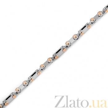 Золототая цепь с двумя бриллиантами Миротворец 000019551