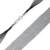 Шелковый шнурок черного цвета Вуаль