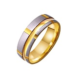 Золотое обручальное кольцо My Tenderness