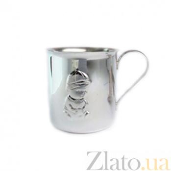 Серебряная чашка Мальчонка ZMX--1721_5454