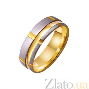 Золотое обручальное кольцо My Tenderness TRF--4211364