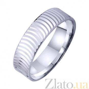 Золотое обручальное кольцо Морской бриз TRF--421289
