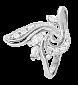 Кольцо из серебра с цирконием Мартина 000025549
