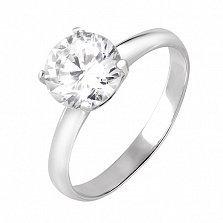 Кольцо из серебра Камалия
