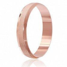 Серебряное кольцо Взаимность в позолоте