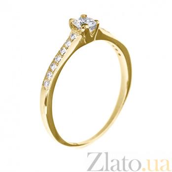 Кольцо из желтого золота с бриллиантами Ami R0678/желт