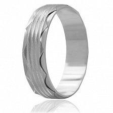 Кольцо из серебра Океан любви