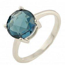 Серебряное кольцо Вайолет с топазом лондон
