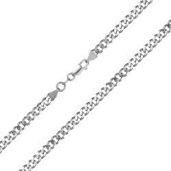 Серебряная цепь Колорадо с родированием 000030826