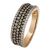 Золотое кольцо Имоджен с бриллиантами