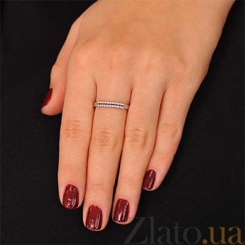 Золотое кольцо с бриллиантами Магический блеск EDM--КД7472/1