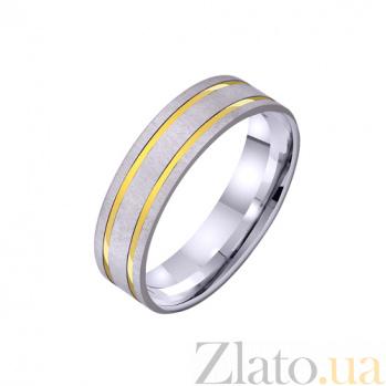 Золотое обручальное кольцо Венец мечтаний TRF--421258