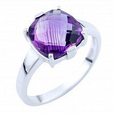 Серебряное кольцо Наина с аметистом