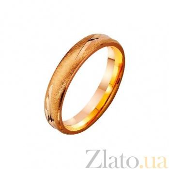 Золотое обручальное кольцо Окрыленные любовью TRF--4111179