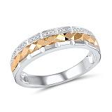 Кольцо из золота с бриллиантами Клеменси