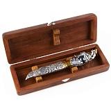 Подарочный серебряный нож Мюнхгаузен