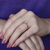 Золотое кольцо Моя принцесса с бриллиантом