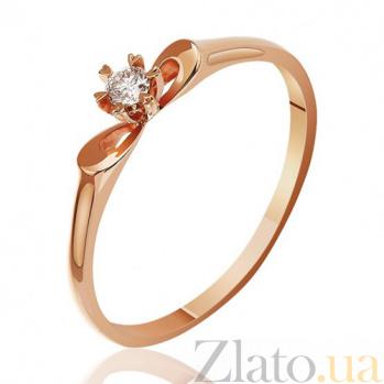 Кольцо из красного золота Первоцвет EDM--КД7490