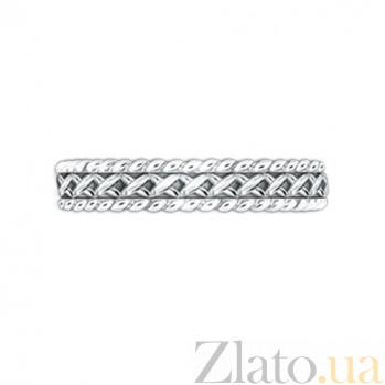 Золотое обручальное кольцо Центр вечных сил 000029718