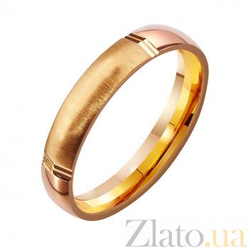 Золотое обручальное кольцо Танец любви TRF--4111099