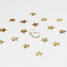 Серебряное плетеное кольцо на фалангу Бесконечность