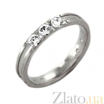 Золотое обручальное кольцо Нежность Эльзы TRF--4221155