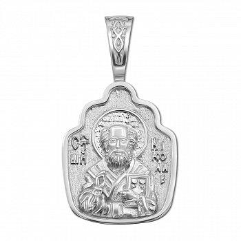 Серебряная ладанка Святой Николай 000117913