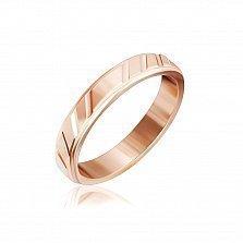 Серебряное кольцо Лав-стори с позолотой