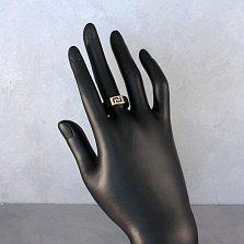 Кольцо Сутами из черного каучука с золотым элементом
