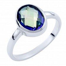 Серебряное кольцо Наоми с топазом мистик