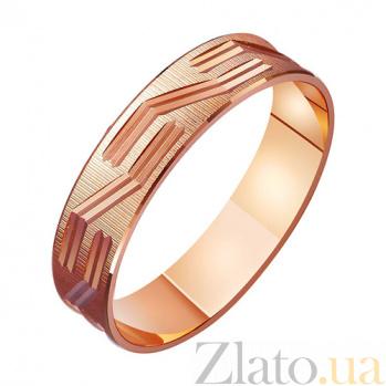 Золотое обручальное кольцо Нежность и обещания TRF--411073