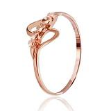 Позолоченное серебряное кольцо Бахира