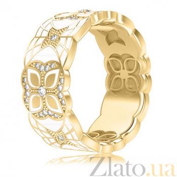 Обручальное кольцо из желтого золота Калейдоскоп Любви: Увертюра к счастью 3354
