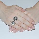 Серебряное кольцо Спутники