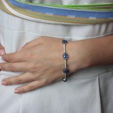 Золотой браслет Артвари с сапфирами и бриллиантами