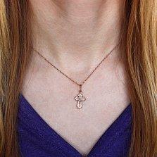 Золотой крест Надежда и вера
