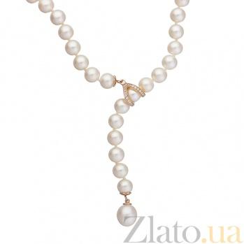 Ожерелье из белого жемчуга с золотым замком Ирландия SG--7882000050201