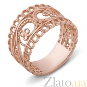 Золотое обручальное кольцо Тропа счастья 12579