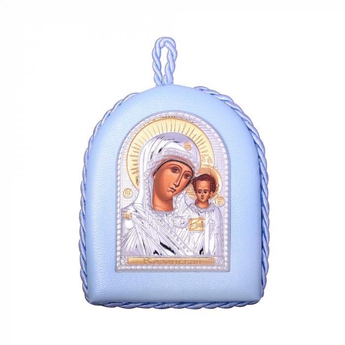 Икона Божия Матерь Казанская с серебрением и позолотой 000131697 000131697
