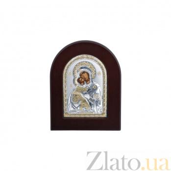 Серебряная икона Божьей Матери с позолотой AQA--MA/E1110EX