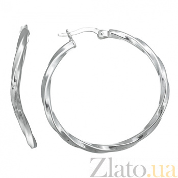 Серебряные серьги Стелла 10030164